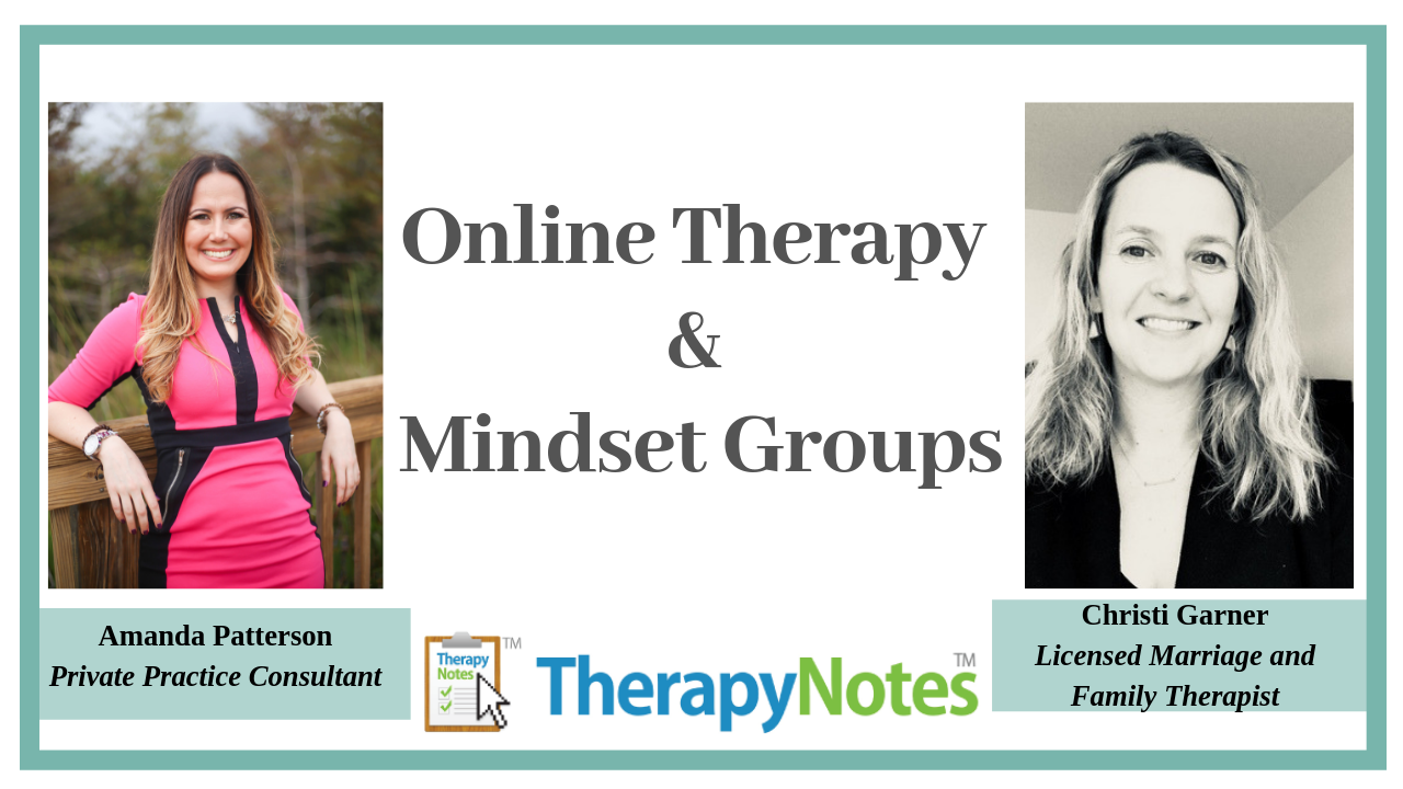 Online Therapy and Mindset Groups