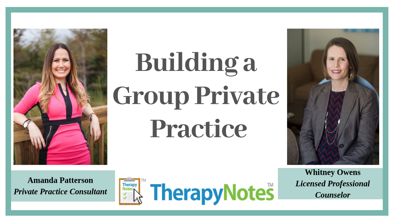 Building a group private practice